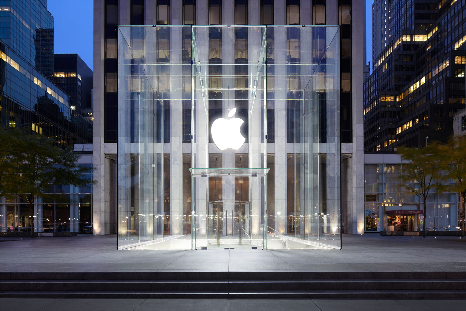 Apple Store Fifth Avenue in New York