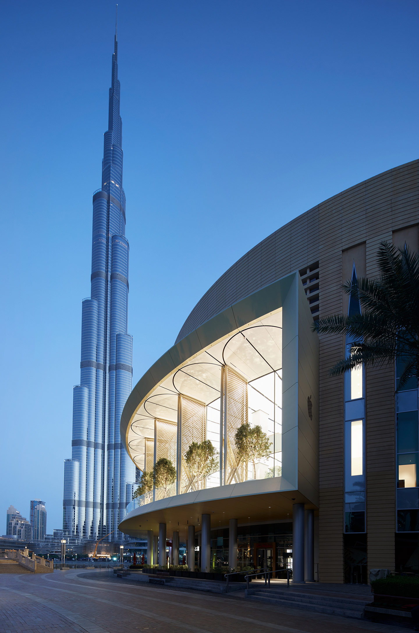 Apple Dubai Mall — Foto: Apple Inc.