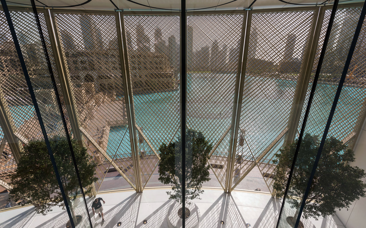 Apple Dubai Mall — Foto: Foster + Partners