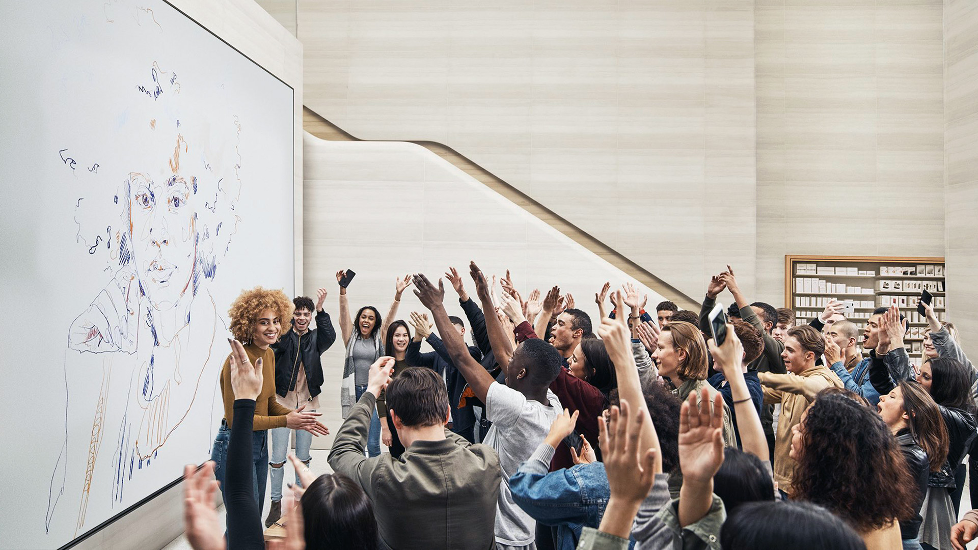 Today at Apple im Apple Regent Street in London — Foto: Apple Inc.