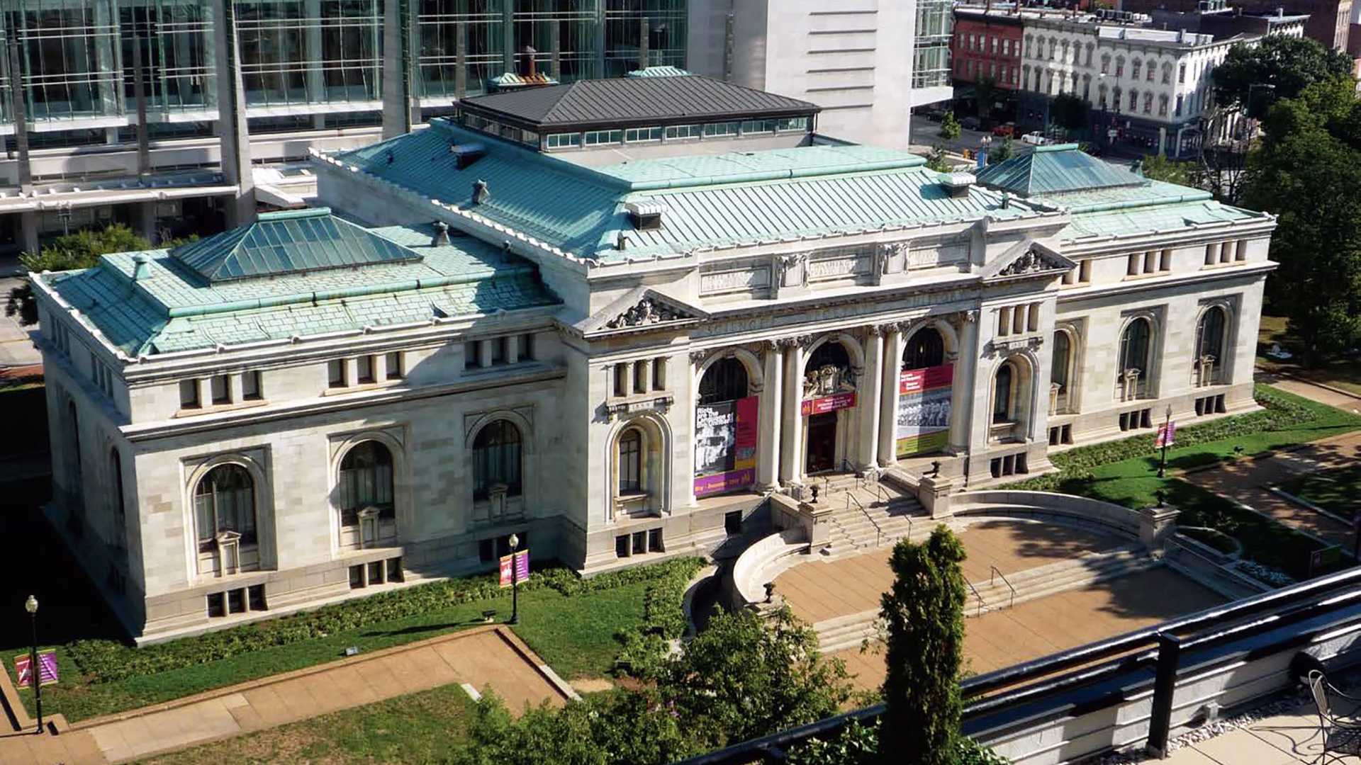 Die Carnegie Library in Washington, D.C. (USA) heute