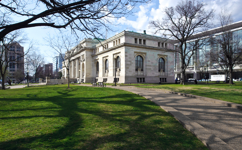 Die Carnegie Library in Washington, D.C. (USA)