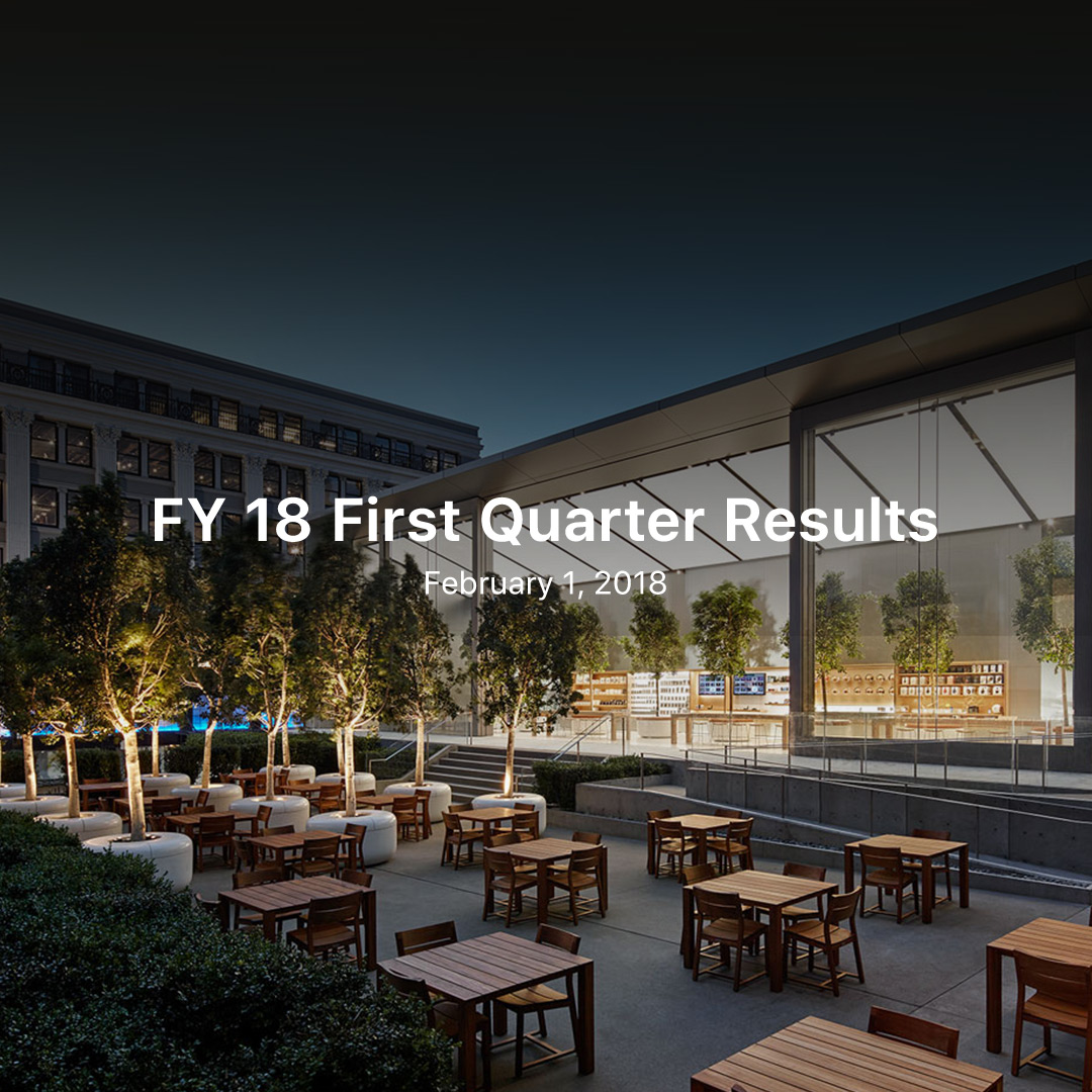 FY 18 Q1 Results