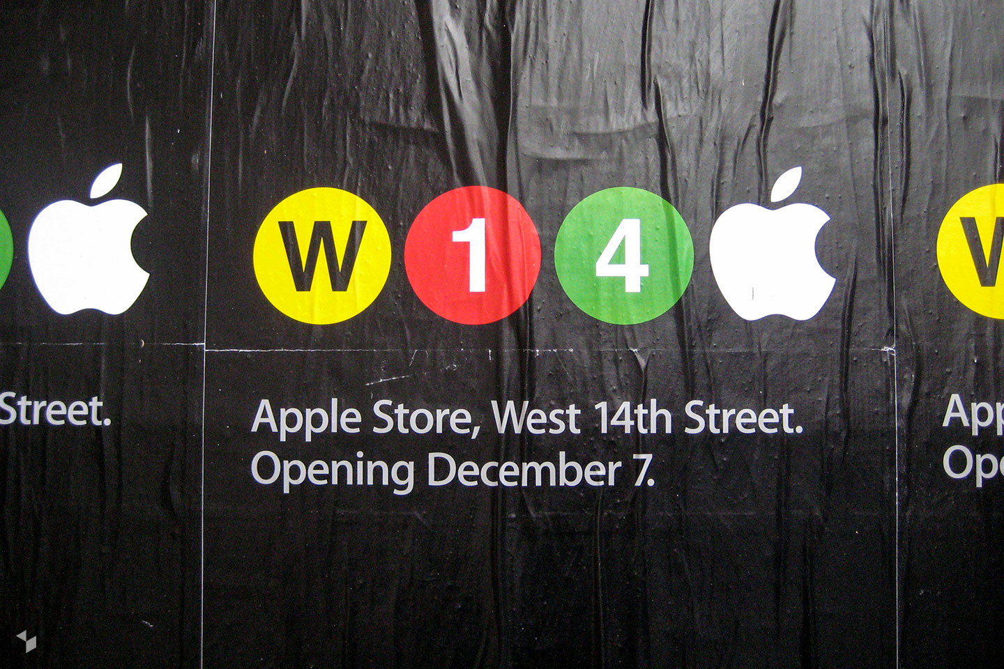 Apple West 14th Street in New York City (USA) eröffnete am 7. Dezember 2007