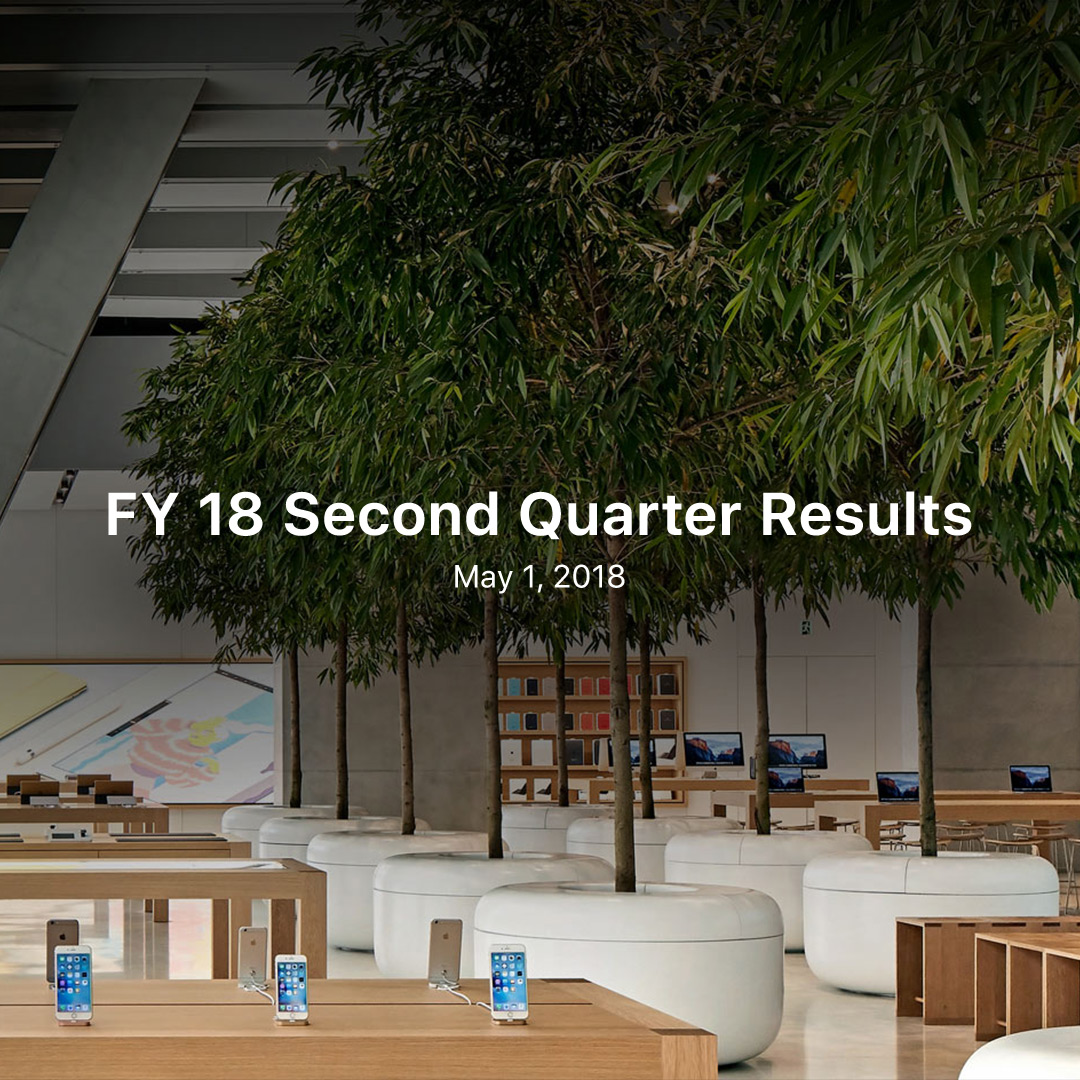 FY 18 Q2 Results