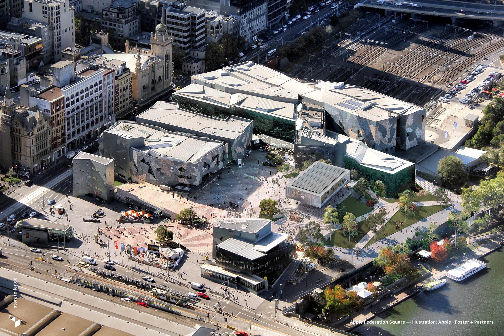 Apple Federation Square (2018)