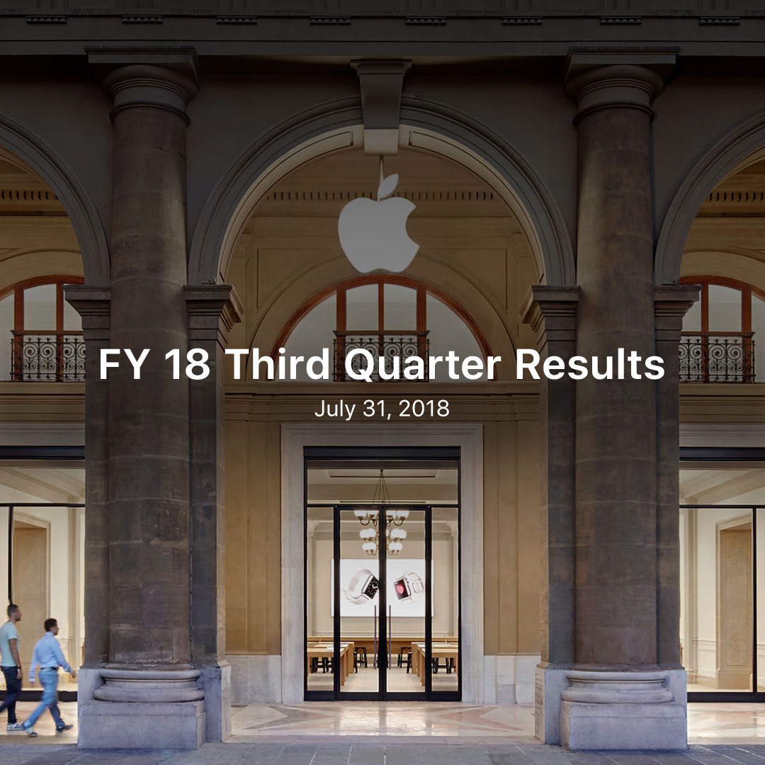 FY 18 Q3 Results
